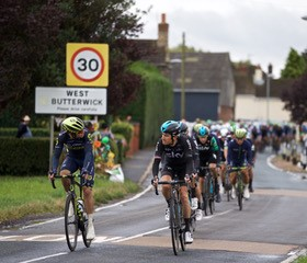 The Tour of Britain cycle race on September the 5th 2017